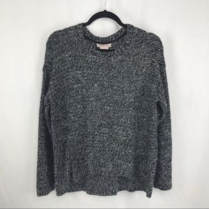 Philosophy Grey Marled Crew Neck Sweater, XL